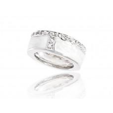 Дизайнерски дамски пръстен BAGUE A DAMES от колекция La Jumping Blanche [BADA-10048] online