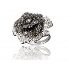 Дизайнерски дамски пръстен BAGUE A DAMES от колекция La Rose Noire [BADA-10036] online