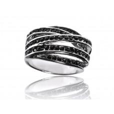 Луксозен дамски пръстен BAGUE A DAMES от колекция L'Illuminée Noire [BADA-10044] online
